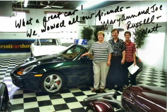 """What a great car! We wowed all our friends."""